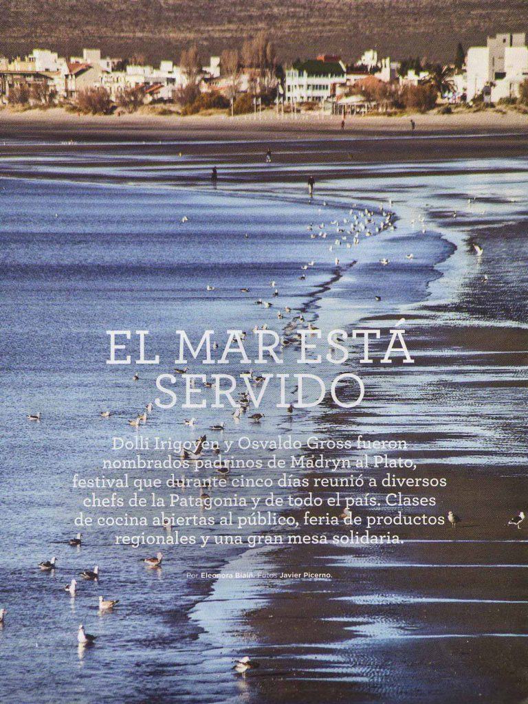 Agosto de 2014 Revista El Gourmet- Pág 78,88- Sección Festivales- Puerto Madryn (1)