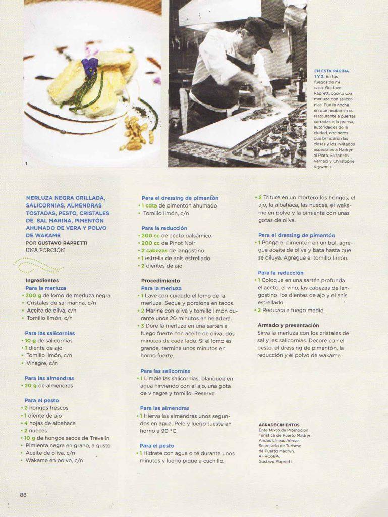 Agosto de 2014 Revista El Gourmet- Pág 78,88- Sección Festivales- Puerto Madryn (10)