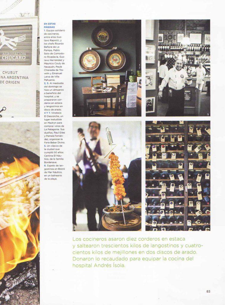 Agosto de 2014 Revista El Gourmet- Pág 78,88- Sección Festivales- Puerto Madryn (6)