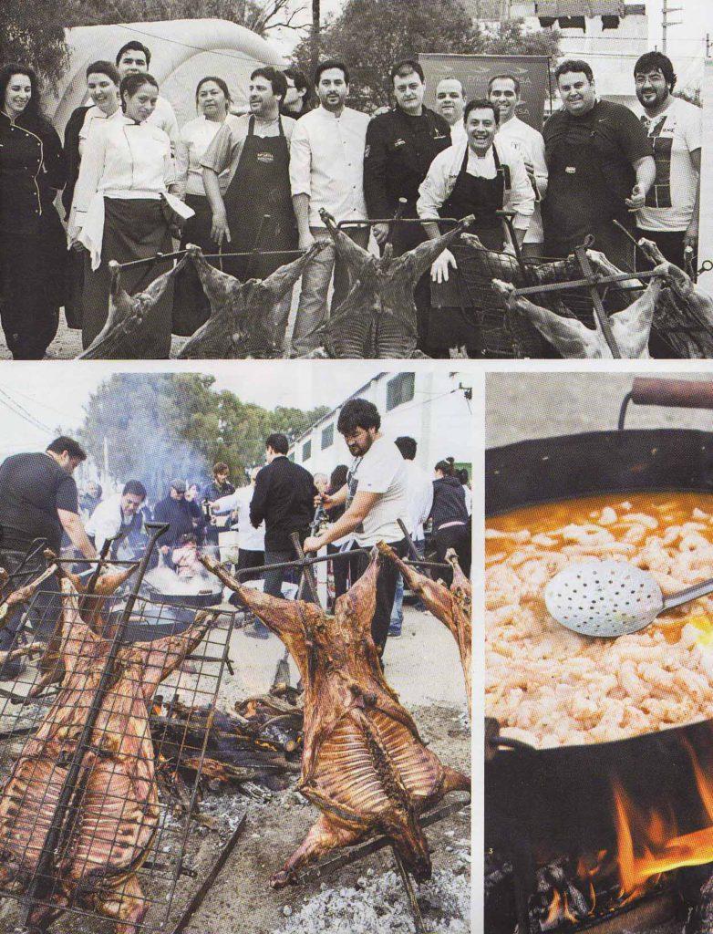 Agosto de 2014 Revista El Gourmet- Pág 78,88- Sección Festivales- Puerto Madryn