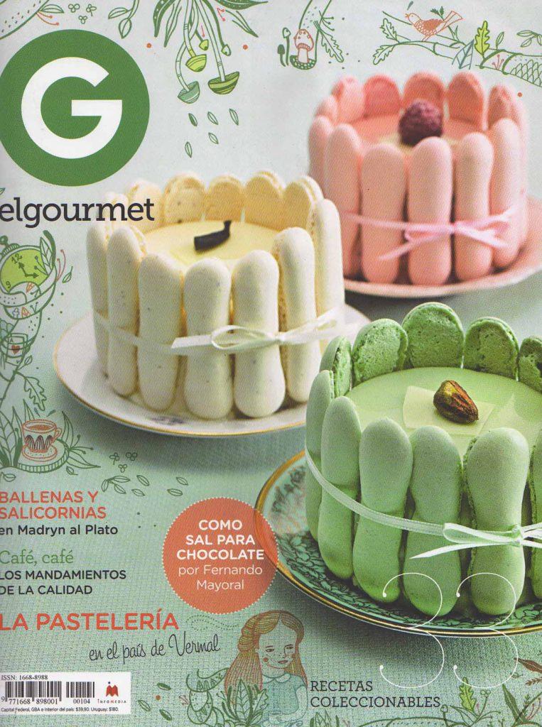 Agosto de 2014 Revista El Gourmet- Pág 78,88- Sección Festivales- Puerto Madryn (Tapa) (1)